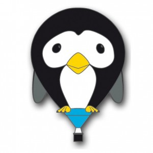 puddles-penguin-balloon-pin